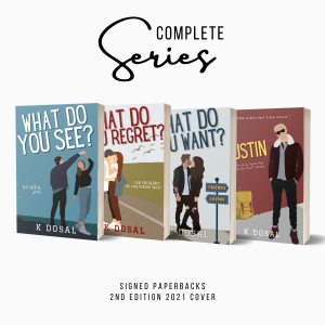 Complete (What Do You Series) Singed Paperback Bundle 2nd Edition Covers